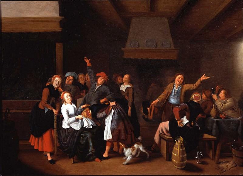 Jan Miense Molenaer Handjeklap 78359 276. часть 3 -- European art Европейская живопись
