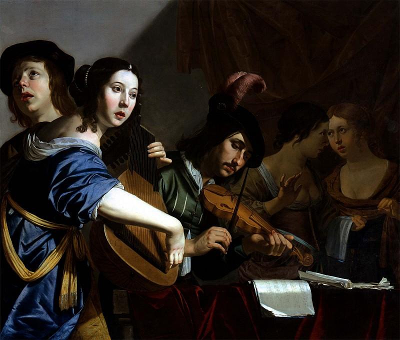 JAN VAN BIJLERT Musical Company 11277 172. часть 3 - европейского искусства Европейская живопись