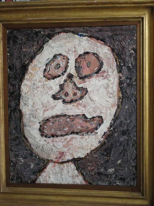 Jean Dubuffet Cousine Bernarde 38810 1146. часть 3 -- European art Европейская живопись