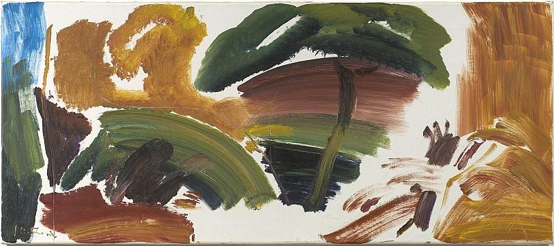 Ivon Hitchens Autumn Tree 1962 89725 20. часть 3 - европейского искусства Европейская живопись