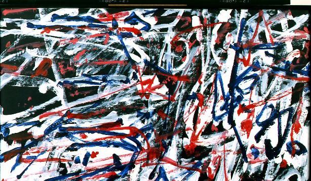 Jean Dubuffet Effusion 38884 1146. часть 3 -- European art Европейская живопись