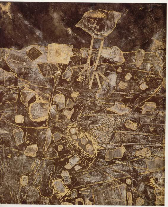 Jean Dubuffet Caille au terrain pierreux 38879 1146. часть 3 -- European art Европейская живопись