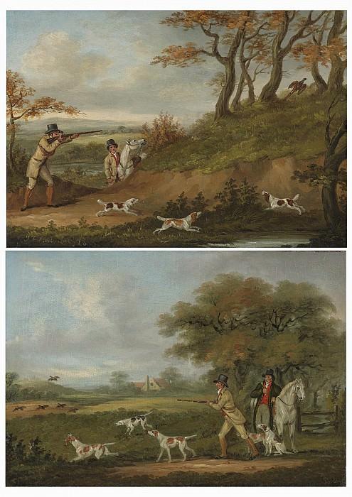 John Francis Sartorius Pheasant shooting; Partridge shooting 28566 20. часть 3 -- European art Европейская живопись