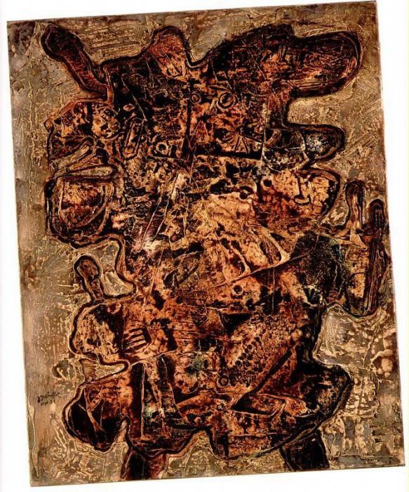 Jean Dubuffet Chevalier Vagabond 39280 1146. часть 3 -- European art Европейская живопись
