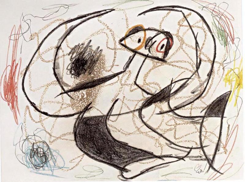 Joan MIRO Personnages 40621 1146. часть 3 -- European art Европейская живопись