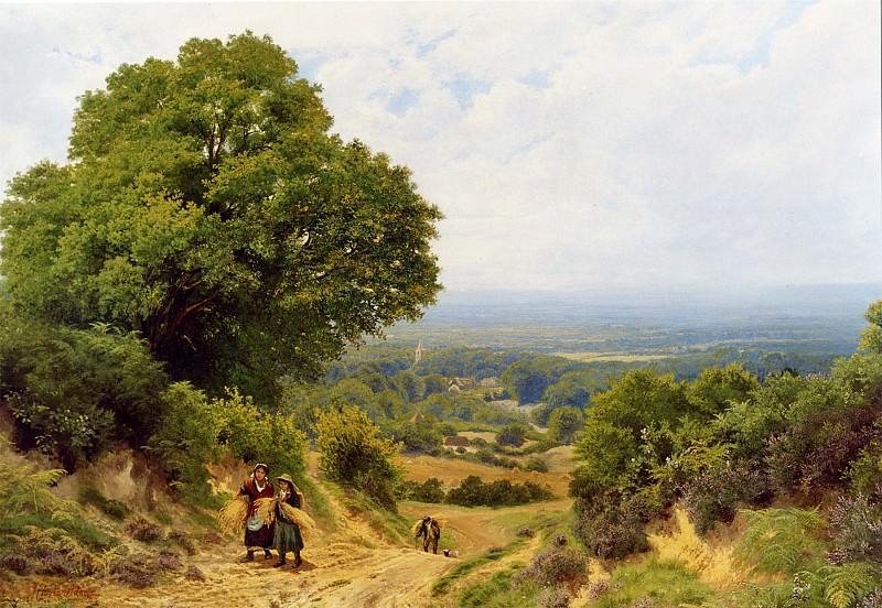 John Clayton Adams Returning from the Harvest 11965 2426. часть 3 - европейского искусства Европейская живопись