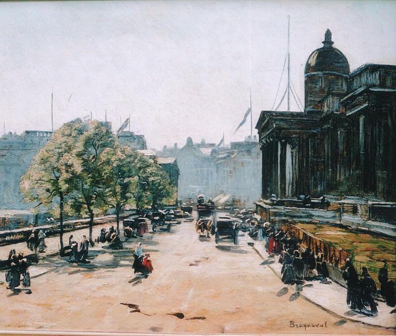 Louis Braquaval The National Gallery Trafalgar Square 20268 1184. часть 3 -- European art Европейская живопись