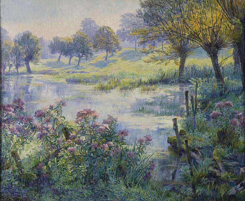 Juliette WYTSMAN Sunny landscape 32443 617. часть 3 -- European art Европейская живопись