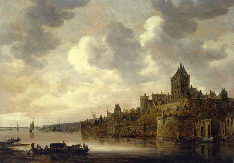 JAN JOSEFSZ VAN GOYEN 90154 184. часть 3 - европейского искусства Европейская живопись