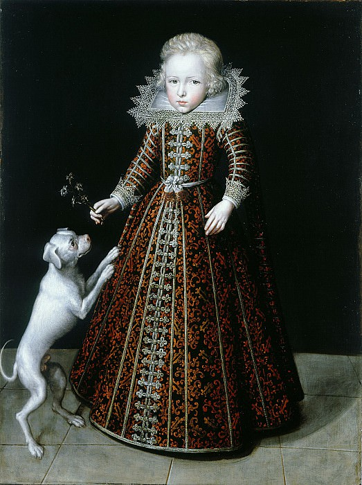 Jacob Van Doort Ulrik Prince of Denmark Son of Christian IV i 32937 321. часть 3 -- European art Европейская живопись