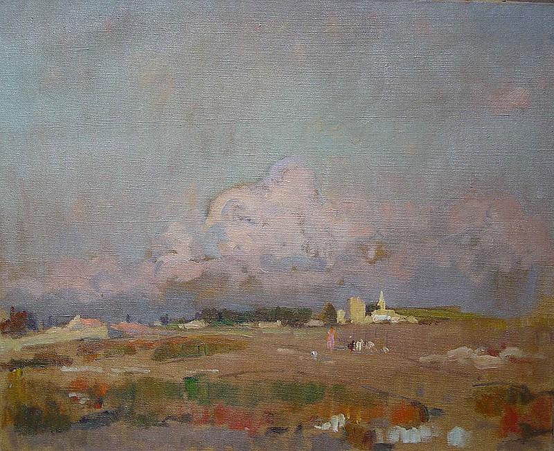 Louis Agricol MontagnГ© ProvenГ§al Landscape 36939 3306. часть 3 -- European art Европейская живопись
