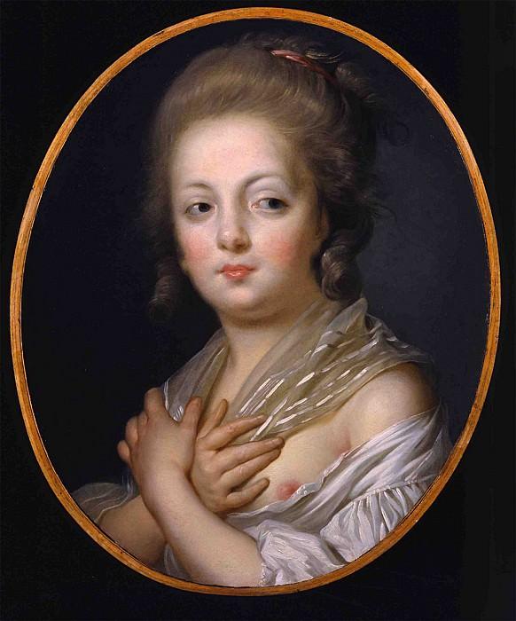 Jeanne Philiberte Ledoux A young woman at her toilette 32011 184. часть 3 -- European art Европейская живопись