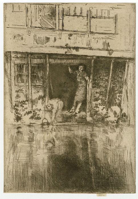 James McNeill Whistler Pierrot 41410 1124. часть 3 -- European art Европейская живопись