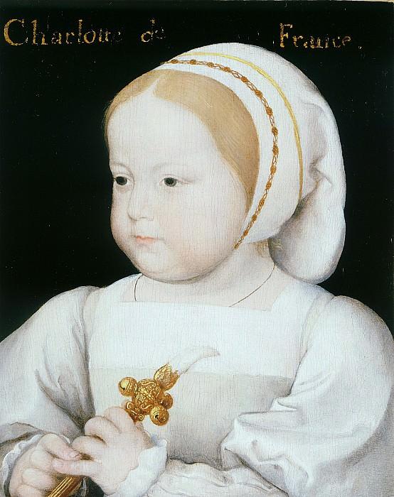 Jean Clouet Madeleine of France 3rd Daughter of FranГ§ois I and Claude of France i 36783 321. часть 3 -- European art Европейская живопись
