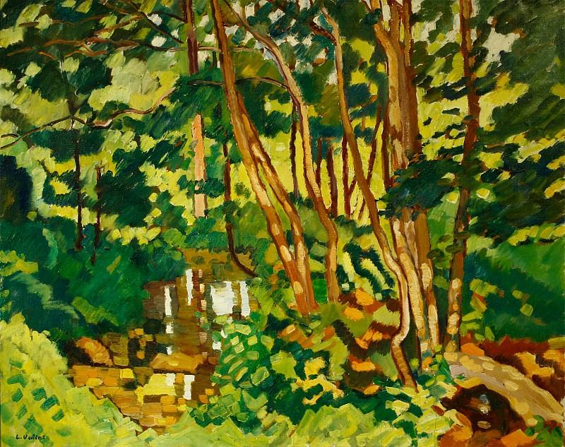 Louis VALTAT Bords de riviГЁre Г Choisel 36635 3449. часть 3 - европейского искусства Европейская живопись