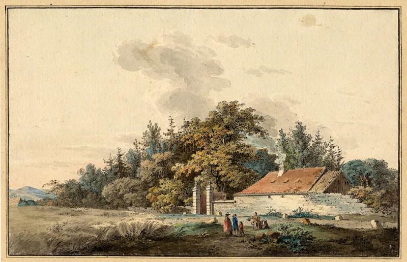 Johann Philipp Veith Near the Grosse Garten in Dresden 122563 1124. часть 3 - европейского искусства Европейская живопись