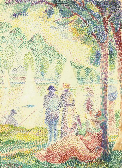 HIPPOLYTE PETITJEAN Dans le parc 63639 1184. часть 3 -- European art Европейская живопись