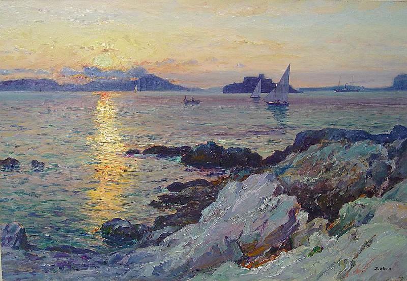 Jean Baptiste olive Marseille 36941 3306. часть 3 -- European art Европейская живопись