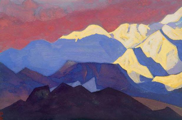 The last ray # 12 Last beam (Burning sky). Roerich N.K. (Part 4)