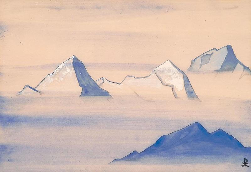 Himalayas album leaf (4). Roerich N.K. (Part 4)