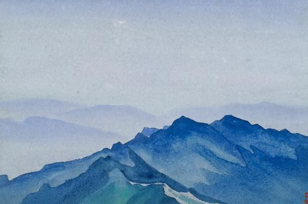 Chandrakany # 195 Chandrakani (Blue Ridge). Roerich N.K. (Part 4)