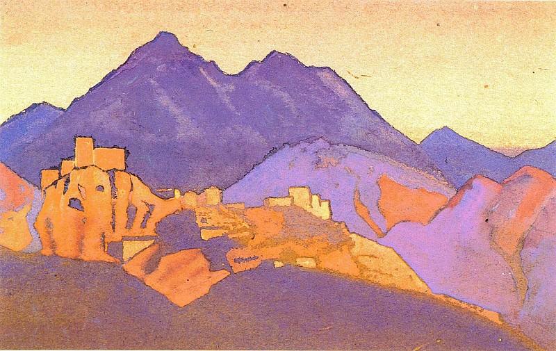 Mongolia # 26 (Mongolia. Yurt). Roerich N.K. (Part 4)