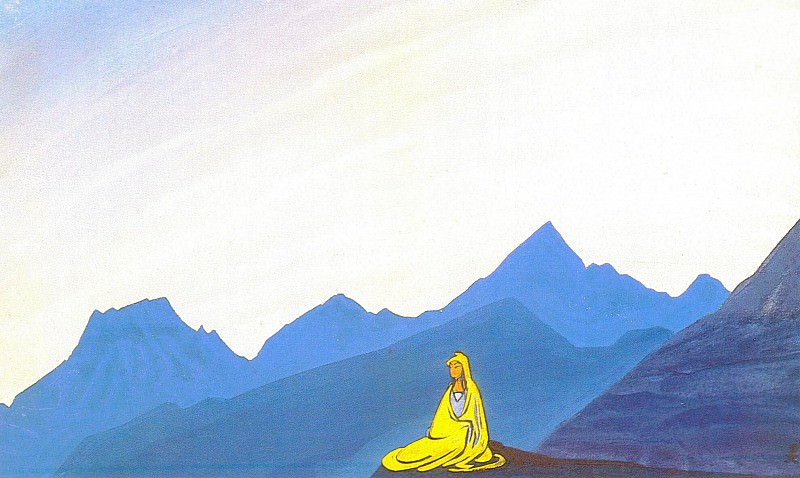 On the Himalayan peaks. Roerich N.K. (Part 4)