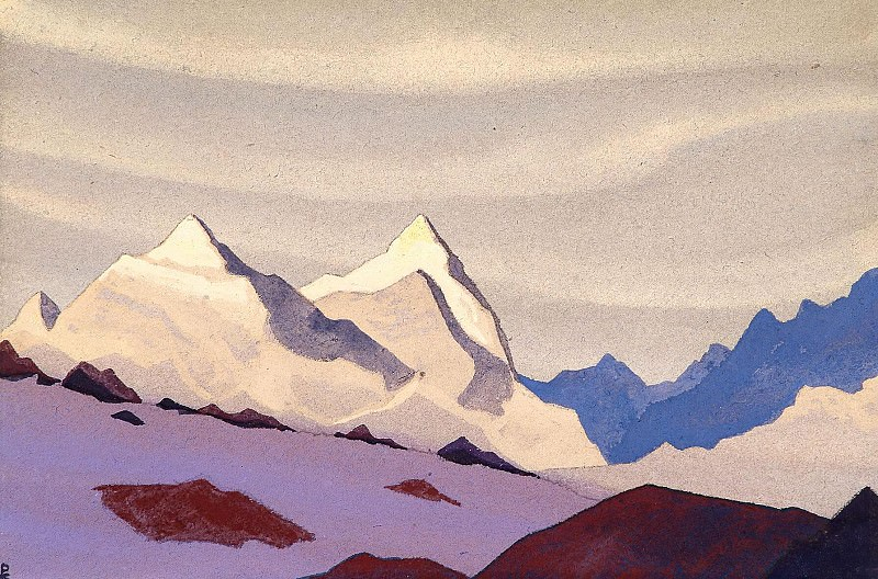 The Western Himalayas # 114. Roerich N.K. (Part 4)