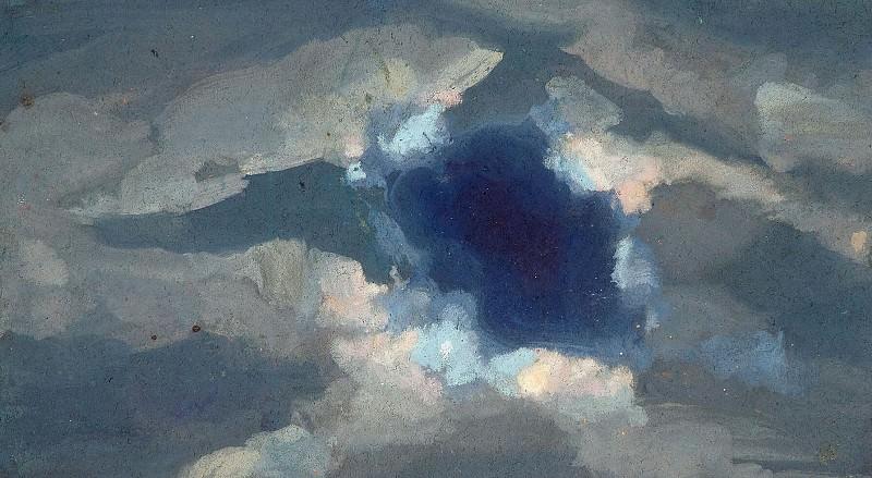 Этюд облаков (Н.К.Рерих?). Рерих Н.К. (Часть 4)