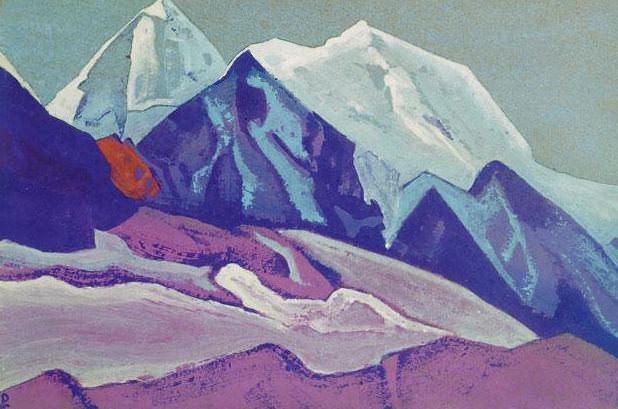 Гималаи #184 Цветные горы. Рерих Н.К. (Часть 4)
