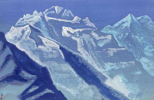 The Himalayas # 193 The Heavenly Steps. Roerich N.K. (Part 4)