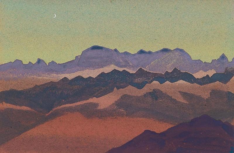 Гималаи. Около Сандахпу #87. Рерих Н.К. (Часть 4)