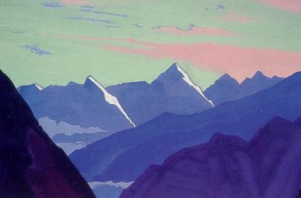 Перевал Ротанг. Рерих Н.К. (Часть 4)
