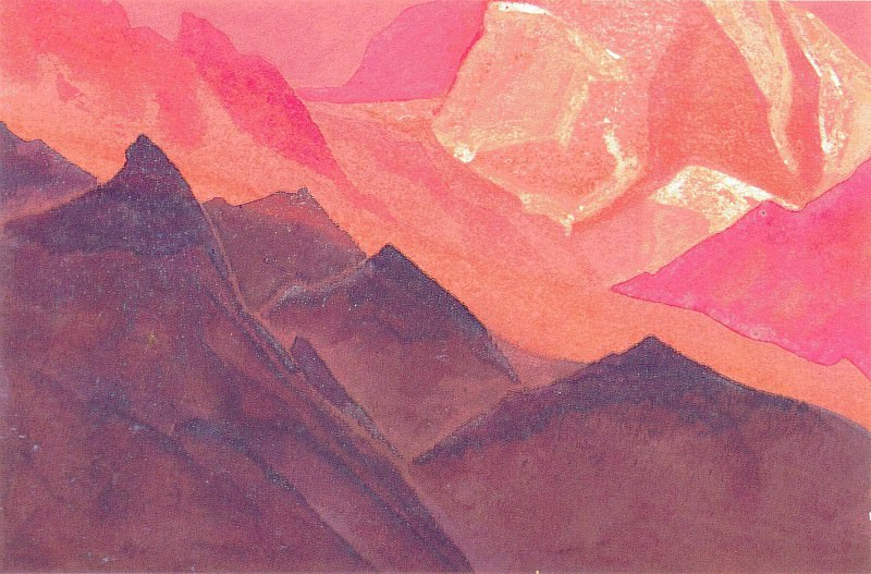 The Himalayas (Mountains). Roerich N.K. (Part 4)