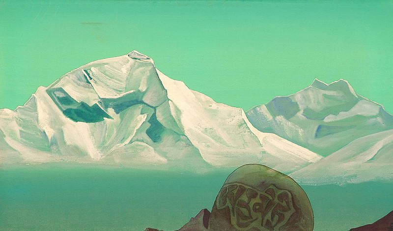 The Holy Mountain # 29 (Path to Kailas). Roerich N.K. (Part 4)