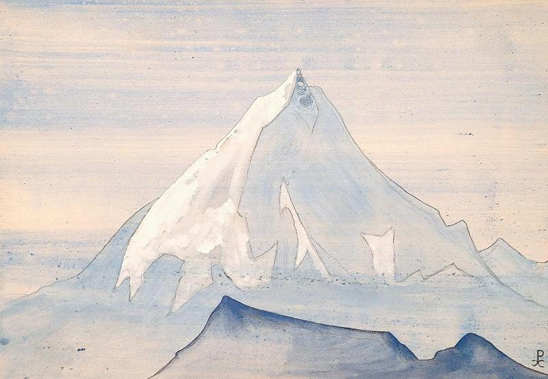 Himalayas album leaf (5). Roerich N.K. (Part 4)