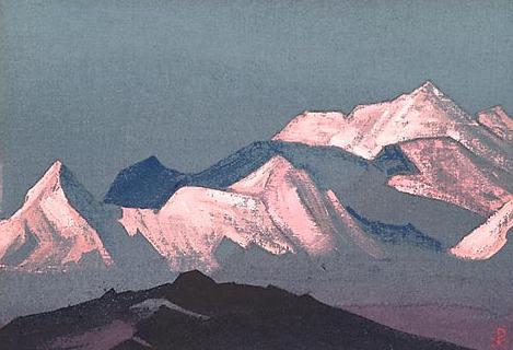Himalayas. Etude # 85. Roerich N.K. (Part 4)