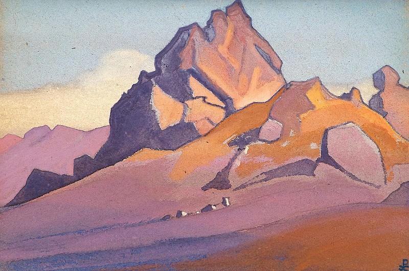 Timur Hada, expeditions parking # 176 (Timur Hada). Roerich N.K. (Part 4)
