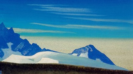 The Himalayas (Morning). Roerich N.K. (Part 4)