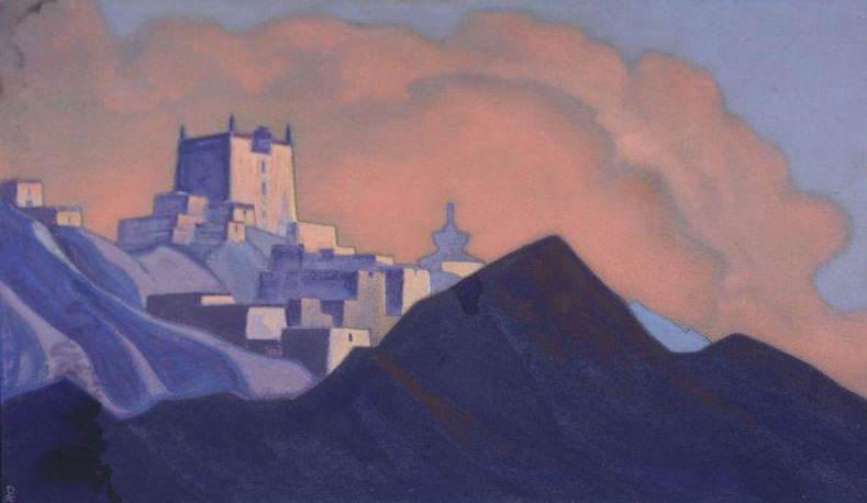 Монастырь (Брамапутра) #66. Рерих Н.К. (Часть 4)