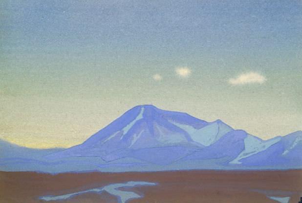 Chantung # 108 Chantung (Three white cloud). Roerich N.K. (Part 4)