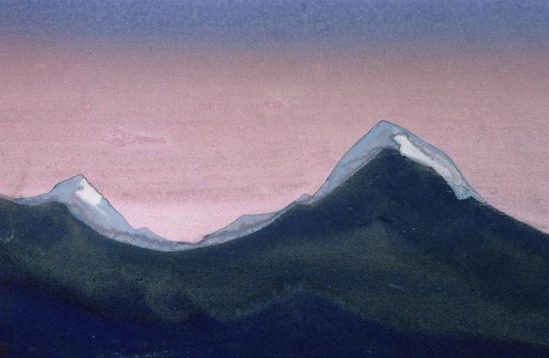 Plateaus (Himalayas ). Roerich N.K. (Part 4)
