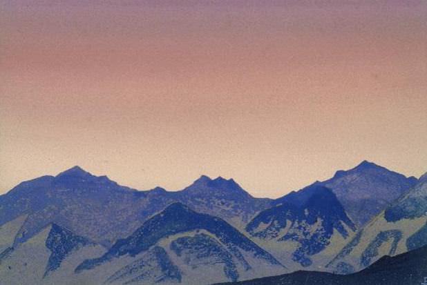 Kuluta # 218 Kuluta (Podnebese). Roerich N.K. (Part 4)