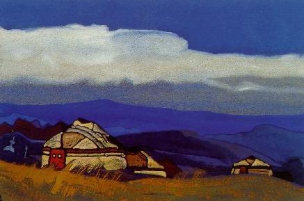 Olun amount. Mongolia # 197 (Olun Sume. Mongolia). Roerich N.K. (Part 4)