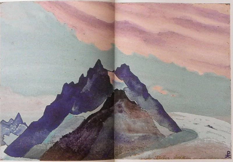 Himalayas. Roerich N.K. (Part 4)