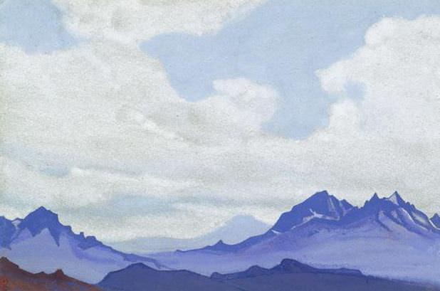 Refza # 162 (Refza (Sonata Mountains). Roerich N.K. (Part 4)