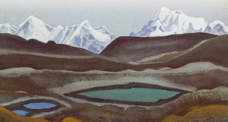 Mountain Lake # 33. Roerich N.K. (Part 4)