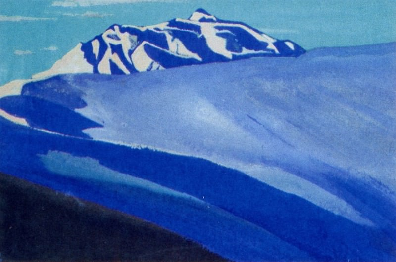 Path to the giant # 167 (Slope ridge). Roerich N.K. (Part 4)