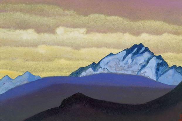 Hunt # 68 (Hunt. sketch). Roerich N.K. (Part 4)