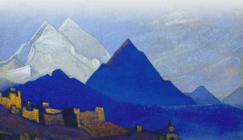 Ladakh # 157 Ladakh (Le). Roerich N.K. (Part 4)